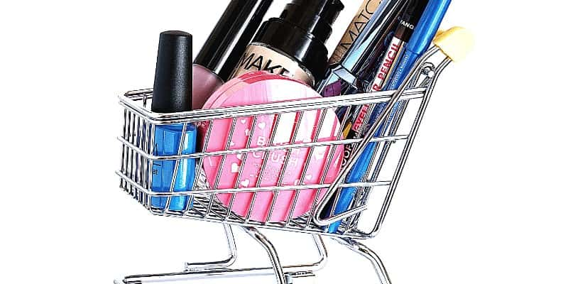 Overspending money when shopping