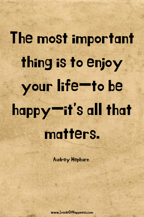 The most important thing Quote