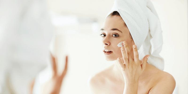 Moisturise your skin twice daily