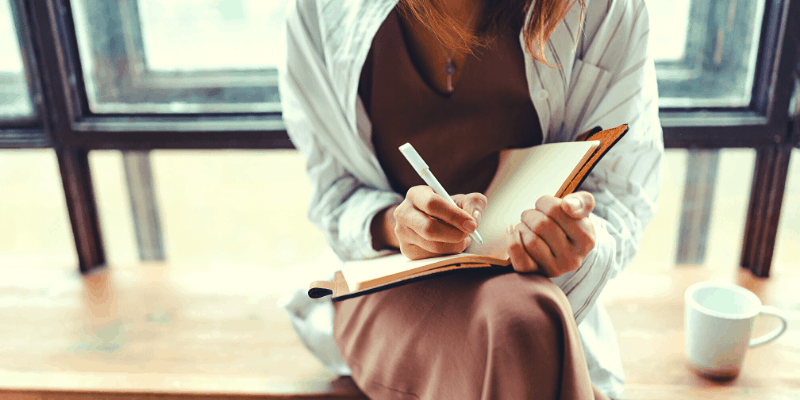 How does journaling help you with self-discovery