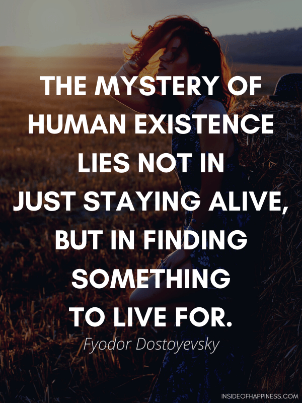 Quote about finding purpose in life