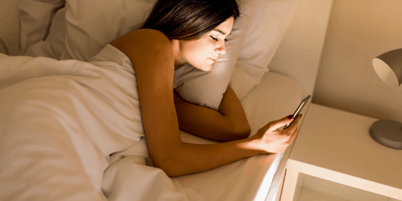 Your phone makes you feel tired all the time