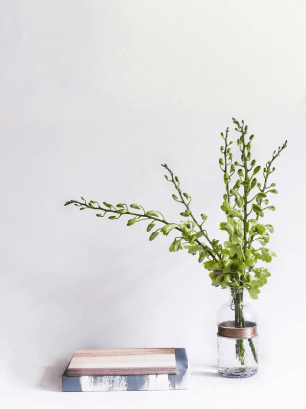 Minimalistic decor at home