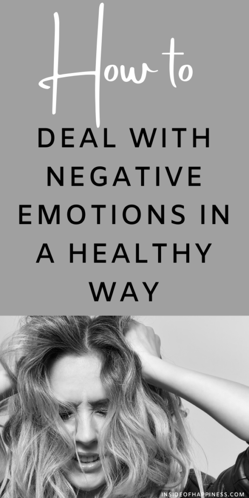 How to deal with negative emotions. Managing them with love and forgiveness. Three healthy ways to release them.