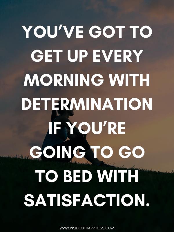 get up every time quote