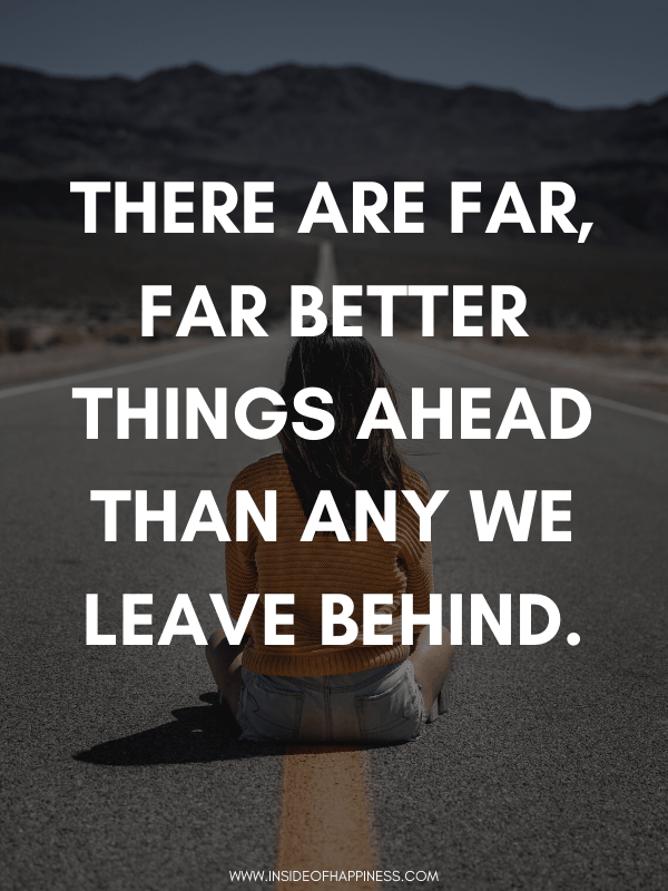 things ahead quote