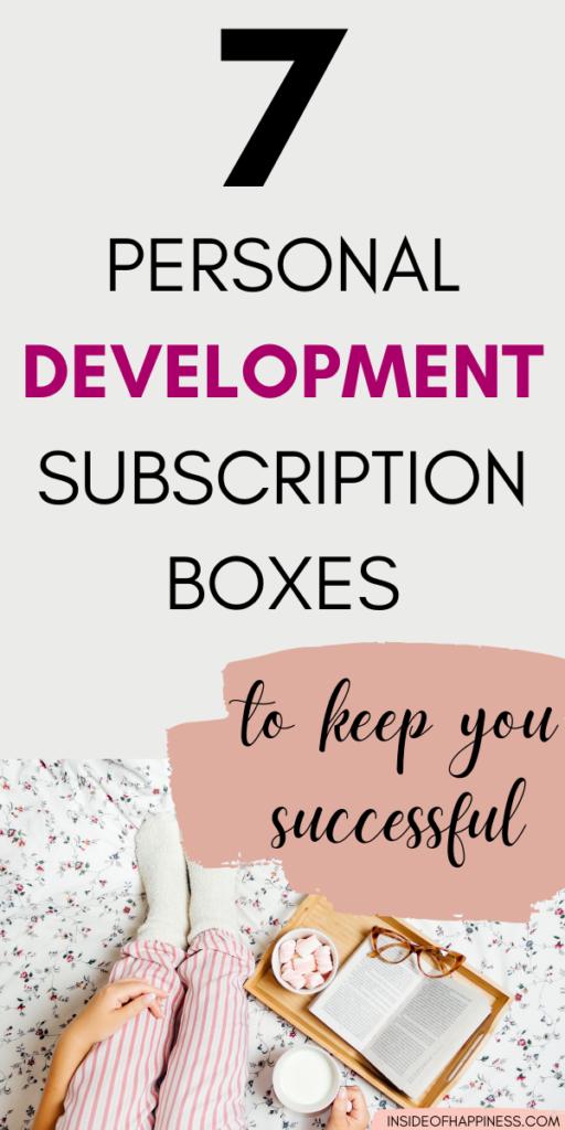7 Personal Development Subscription Boxes