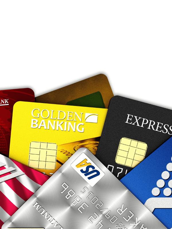 credit-cards-lot