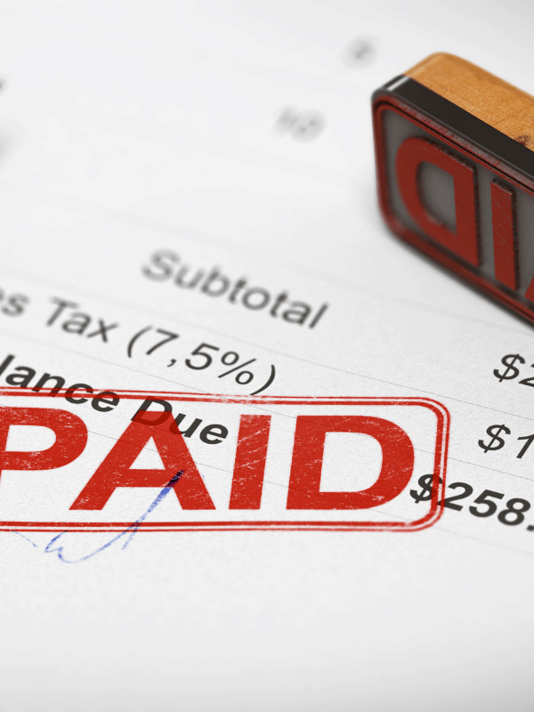 stamp-paid-off-debt