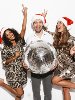 2-girls-and-1-man-holding-a-disco-ball